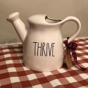 Rae Dunn Thrive watering can
